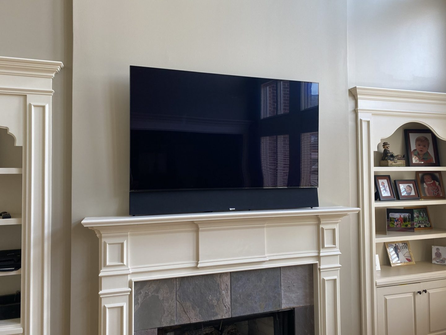 TV install with Home theater installation for luxury living