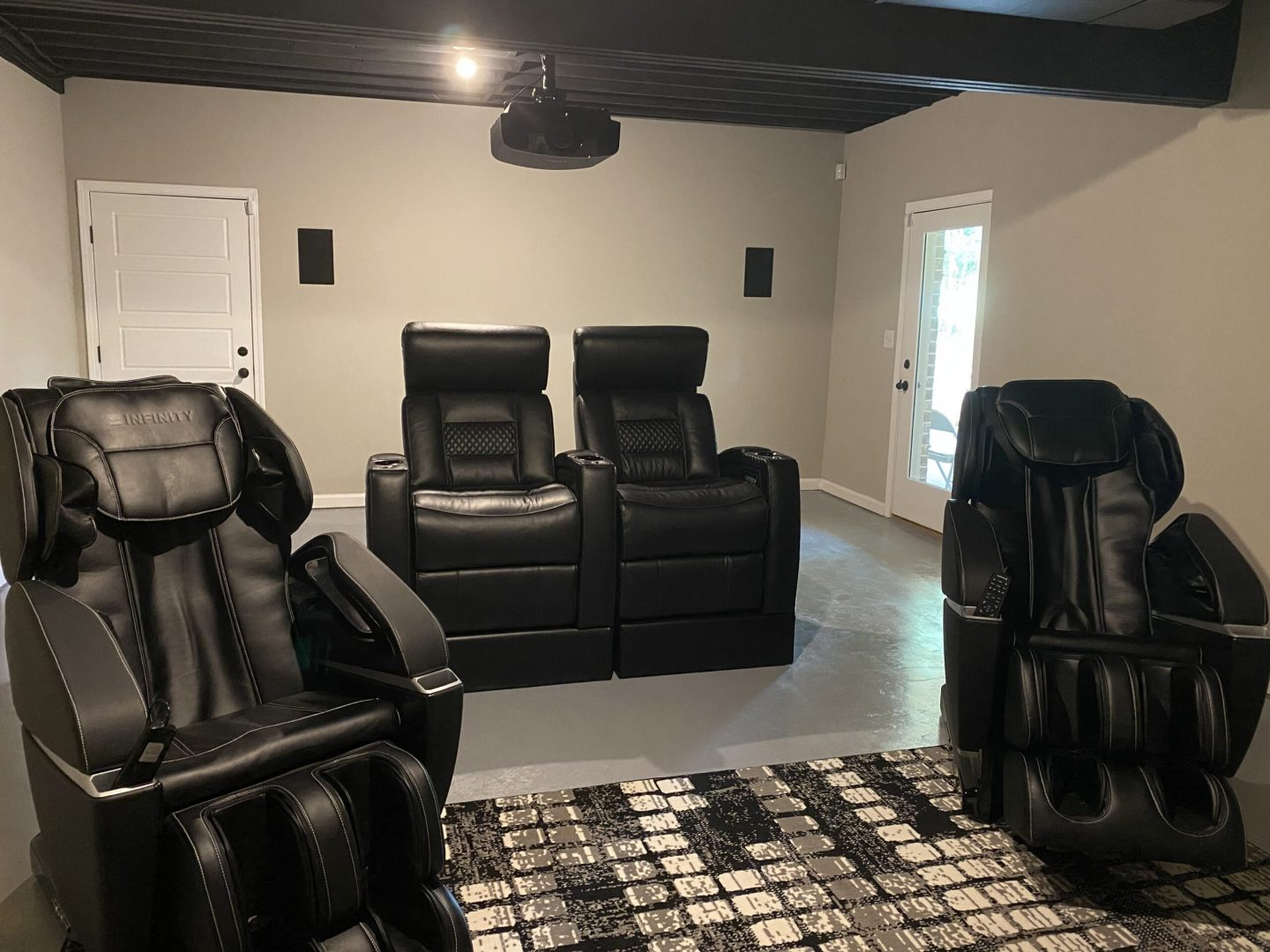 Home theater installation for luxury living
