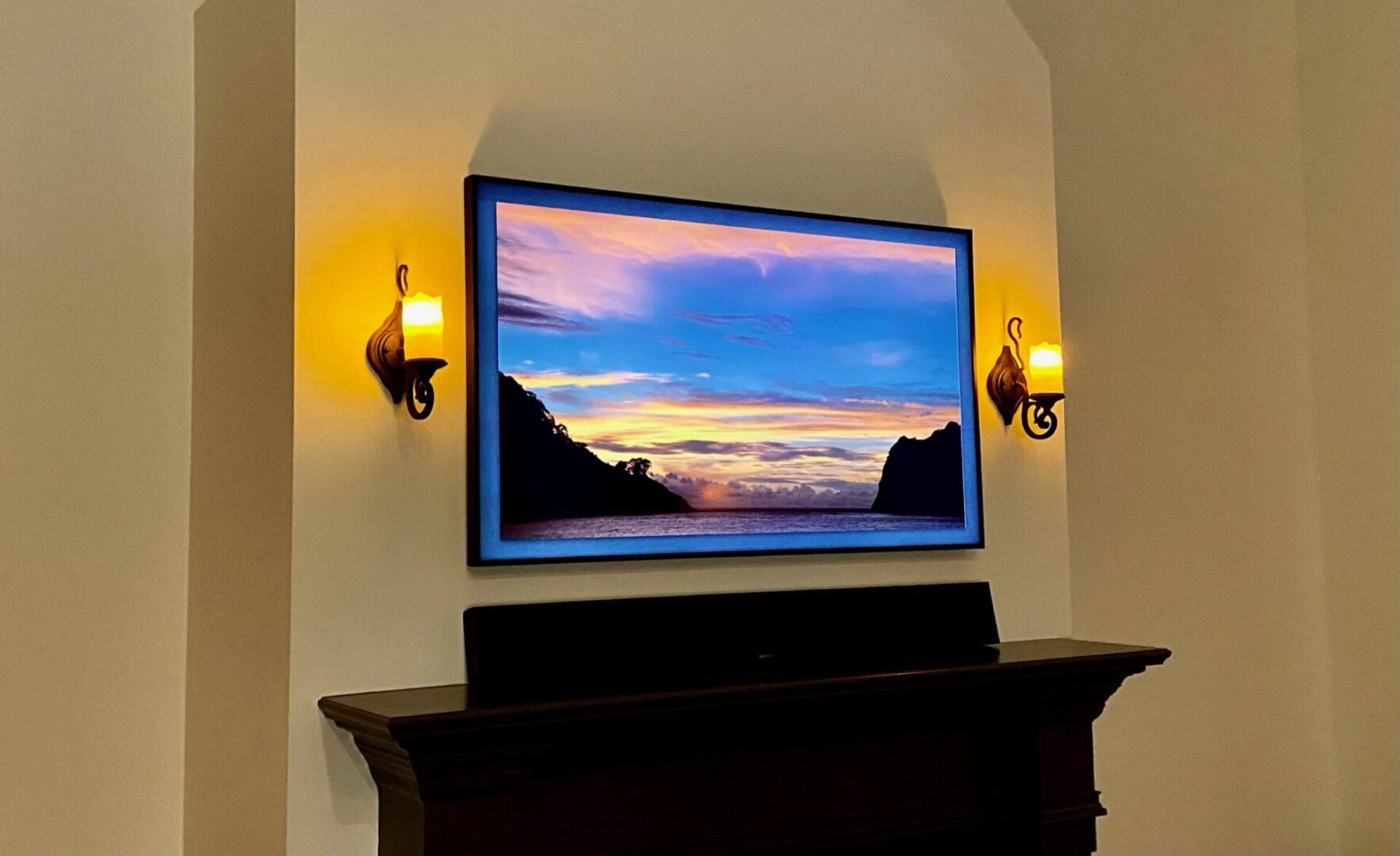 Samsung frame TV Installation in Birmingham Al